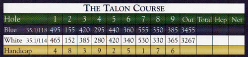 Falmouth Country Club - The Talon Course