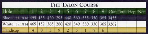 Falmouth Country Club - The Talon Course