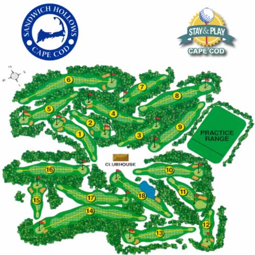 Sandwich Hollows Golf - Stay and Play Cape Cod